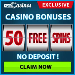 123 casino 50 free spins